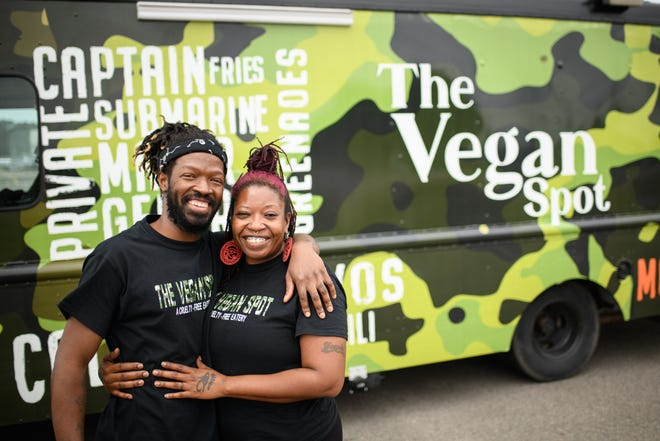 Robert and Yoniara Montoya are bringing vegan comfort food to the community with their food truck, The Vegan Spot.