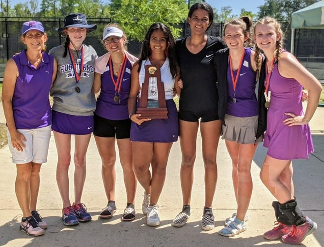 Gainesville is one of eight local tennis teams in the first round of the playoffs, the 'Canes will host Fleming Island at 3:30 p.m. Tuesday at Jonesville.