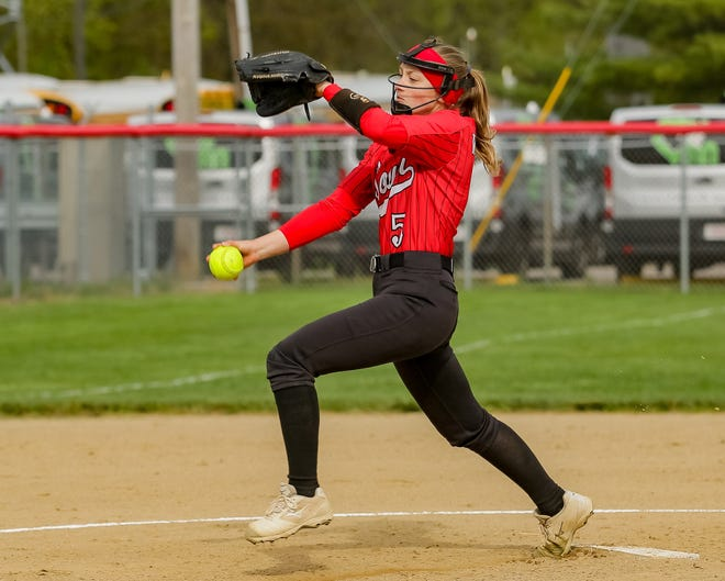 Megan Shoemaker has been a key contributor for South, which was 12-8 overall and 6-2 in the OCC-Capital before playing Big Walnut on April 26. Shoemaker threw her second no-hitter of the season in an 8-0 victory over Dublin Scioto on April 22.