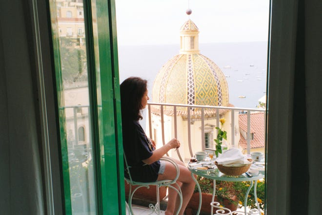 A view from Le Sirenuse in Positano, Italy.
