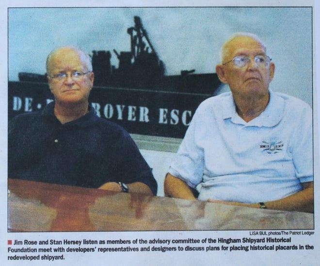 Jim Rose and Stan Hersey