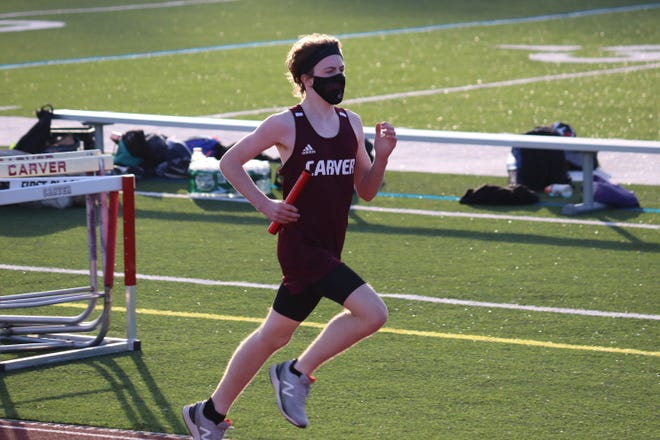 Ryan Rutherford runs the mile.