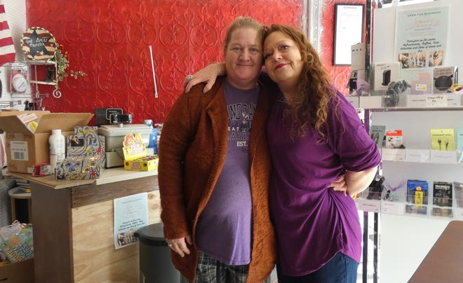 Best friends Danielle Patton and Shannon Stockmaster have opened Shanielle's on North Sandusky Avenue.