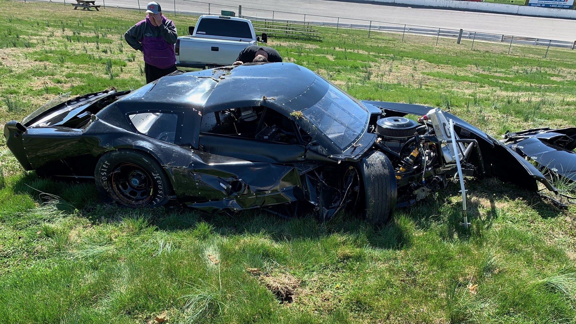 Michigan Teen Race Car Driver Keegan Sobilo Crashes Mustang At 70 Mph