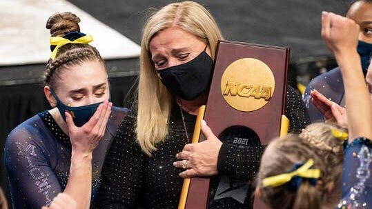 Confidence, calm carried UM to women's gymnastics national title