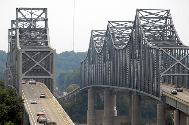 U.S. 41-North Twin Bridges.