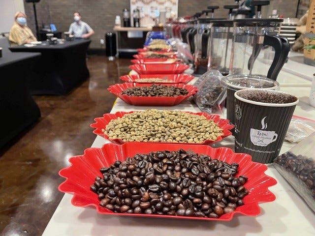 Master coffee roaster Ulli Winckler hosts seminars on coffee brewing every two months at the Luminary Hotel in downtown Fort Myers. Winckler owns Rebel Coffee Roastery in Cape Coral.