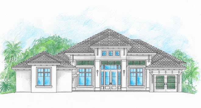 Rendering of Cintron Custom Builders new home