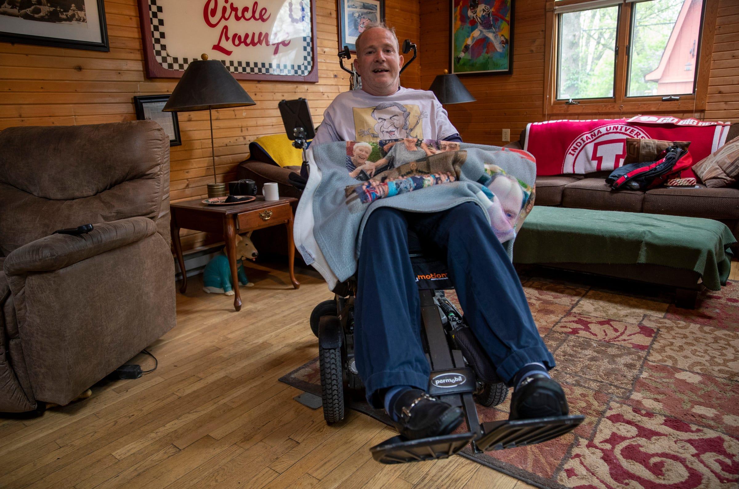 Man in hospice helped by Bobby 'Slick' Leonard