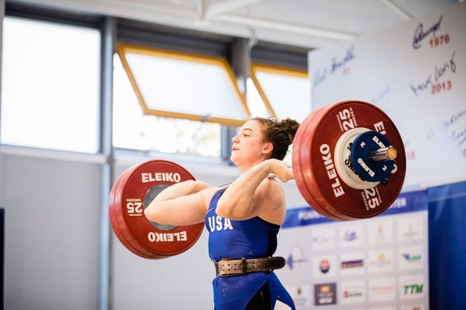 West Allis resident Jessie Stemo, 24, is one of the top weightlifters in the country.