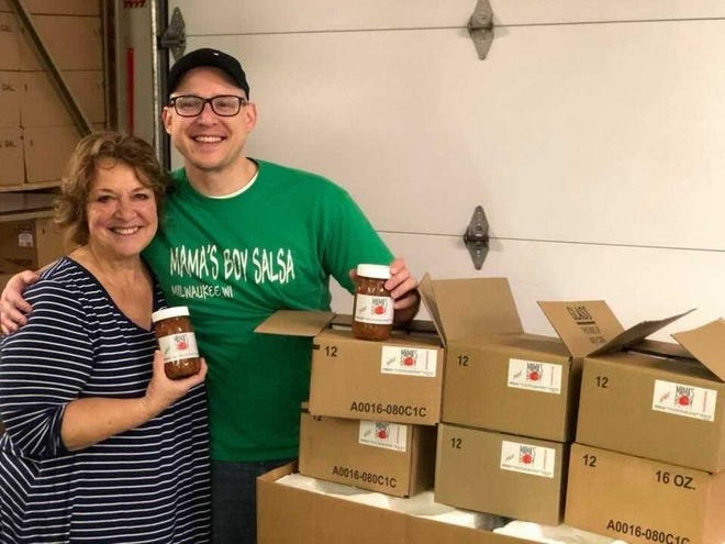 Chris Koncki and his mom, Pat, started Mama's Boy Salsa in 2016. Now, the family is opening a new headquarters at 5820 S. Packard Ave. in Cudahy.