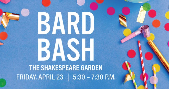 Bard Bash is Friday in the Shakespeare Garden at Alabama Shakespeare Festival.