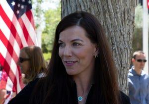 Sen. Michelle Ugenti-Rita, R-Scottsdale, at the Capitol on April 19, 2021.
