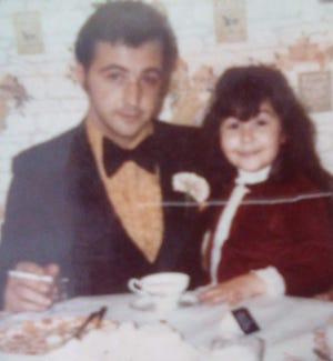 Gina Gingello and her father, Salvatore Gingello.