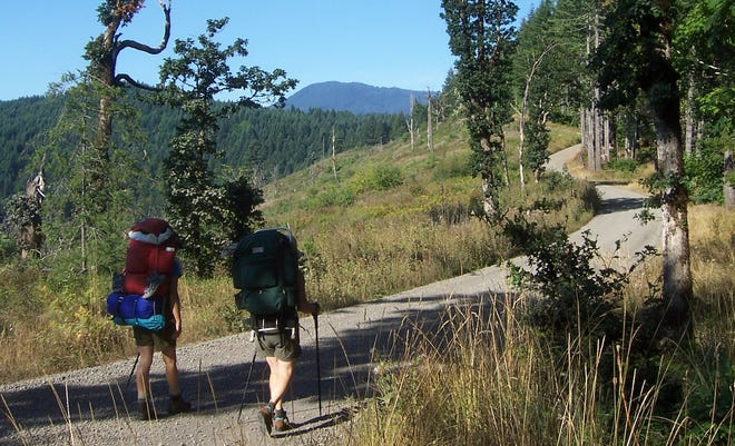 The Corvallis to the Sea Trail takes backpackers from the Willamette Valley to the Oregon Coast.