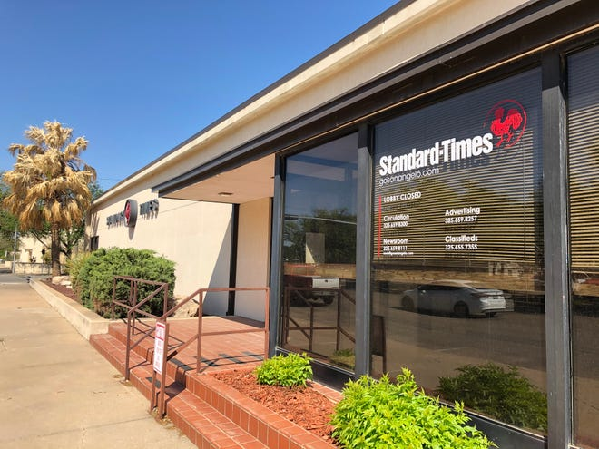 Standard-Times building, 34 W. Harris Ave.
