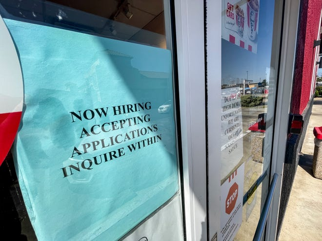 Restaurants and hotels nationwide are having trouble filling open jobs.