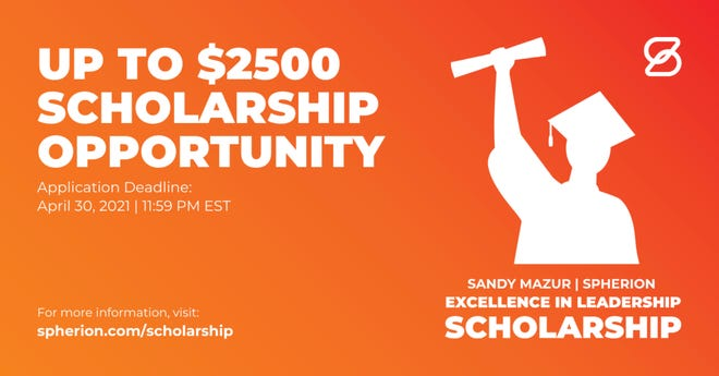 Applicants have a chance to earn an up to $2,500 scholarship for a two-year, four-year degree or trade school.