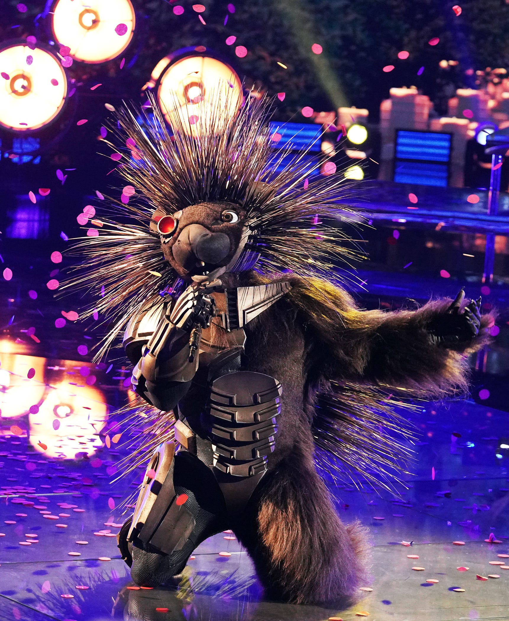 The Masked Singer : Robopine ditches the quills, makes fast and furious exit