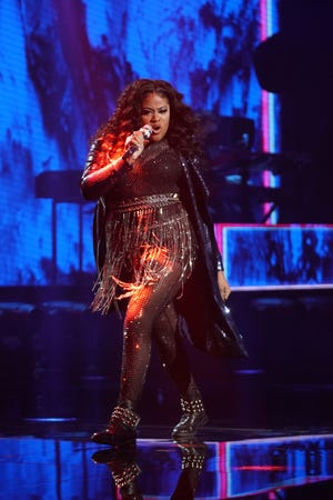 """Cyniah Elise, whom Richie compared to Whitney Houston last season, said she wanted to""""let loose"""" and """"level up"""" by performing a rock song."""