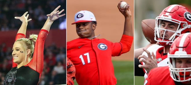 Georgia gymnast Rachel Baumann, pitcher Jaden Woods and quarterback J.T. Daniels could all benefit by players profiting off their name, image and likeness .