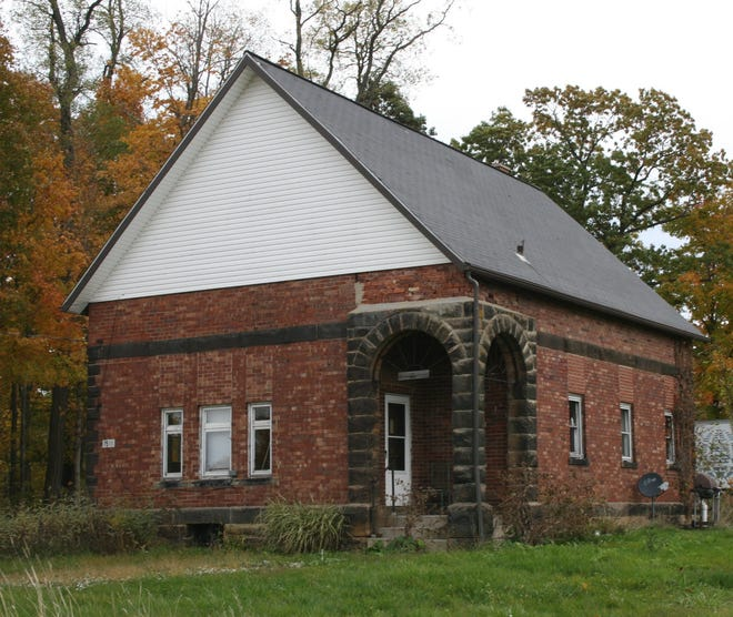 The Albert school in Milton Township, as it is today.