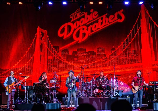 The Doobie Brothers, shown here at Robert Morris University, are booked for The Pavilion at Star Lake.