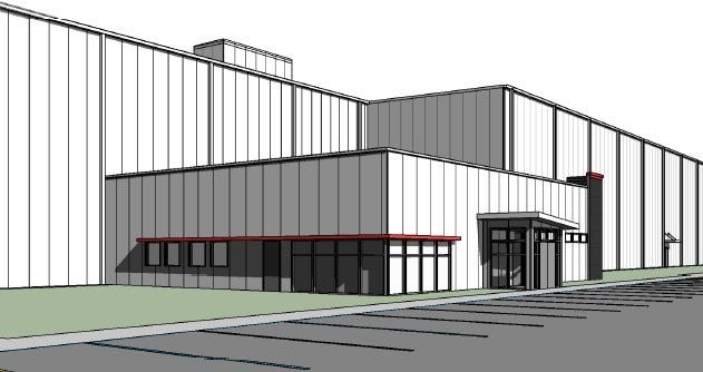 Rendering of Swift Prepared Foods' future Italian meat facility in Columbia.