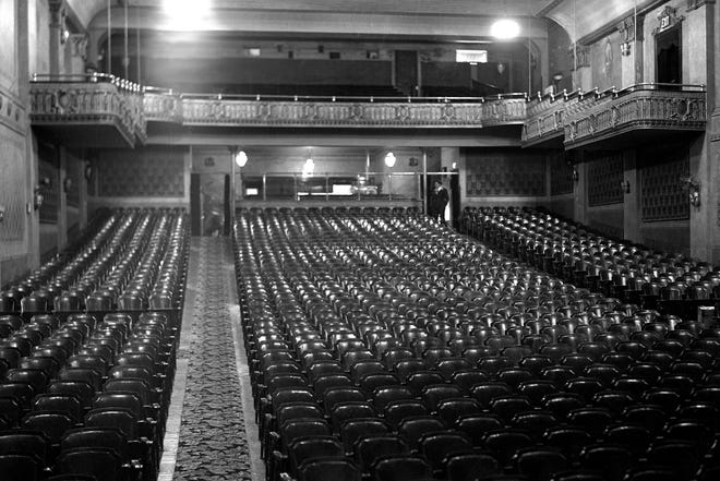 """In 1921, Penn Yan's new Elmwood Theatre was nearing completion. The three-hour opening performance included one of the Paramount Artcraft Super pictures, plus a comedy and short subjects and Pathé News, in the first half, followed by six live vaudeville acts of singing, instrumental music, dancing, """"and clean, wholesome fun."""""""