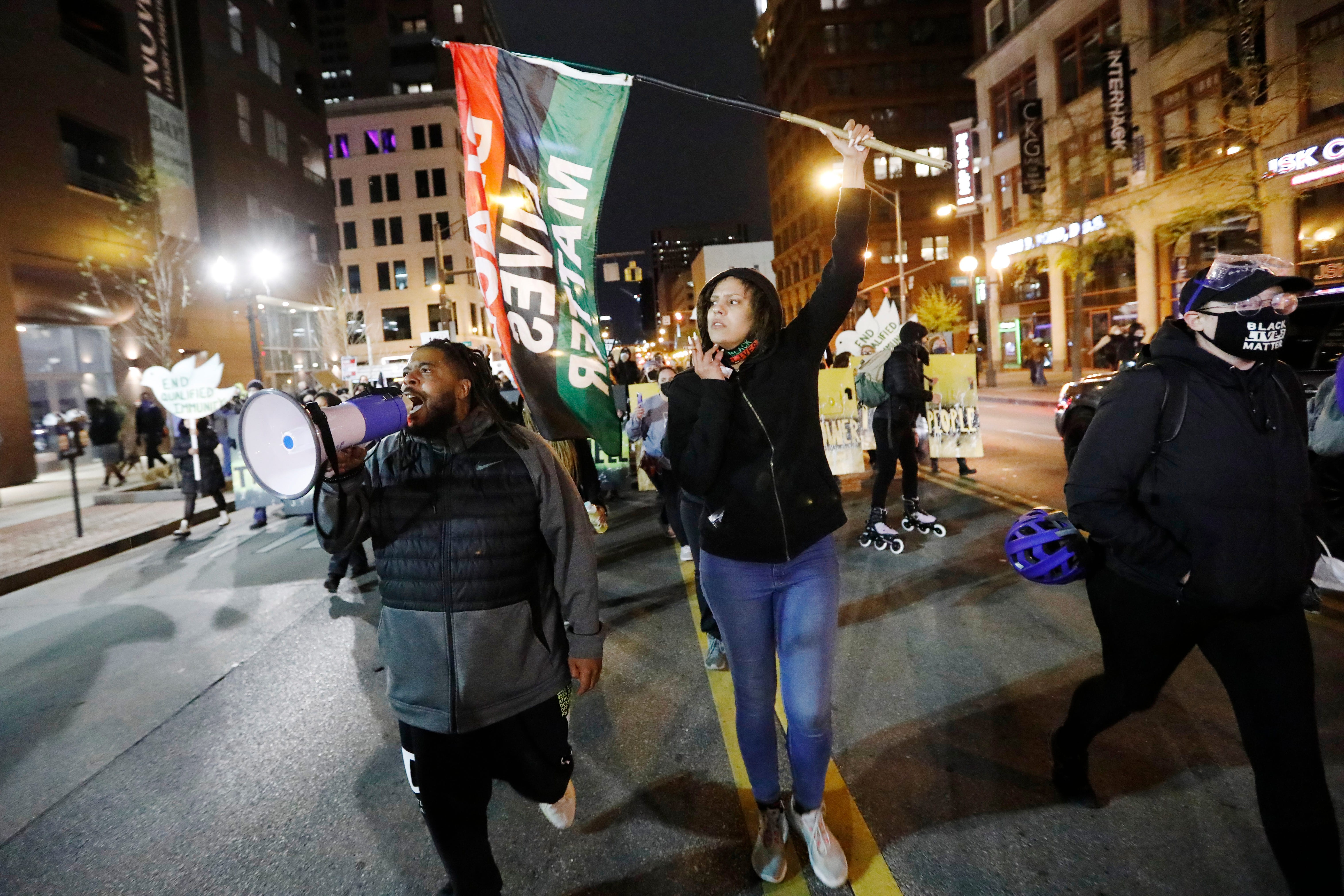 Activists say fatal shooting of Black girl by Columbus police proves Chauvin verdict is  not enough