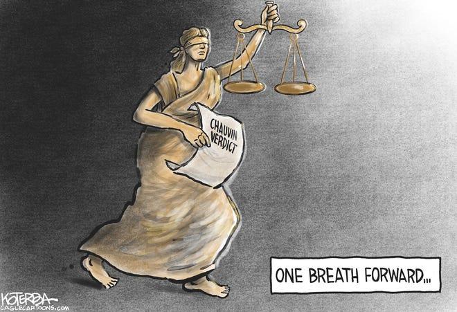 Chauvin Verdict by Jeff Koterba, CagleCartoons.com
