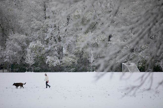 Central Ohio, which was hit with a spring snow shower in April, could get a considerable amount of snow, according to the Old Farmer's Almanac.