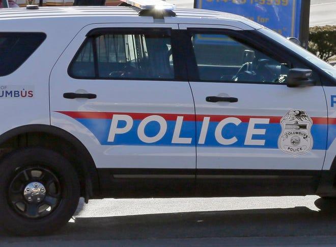 A Columbus police cruiser