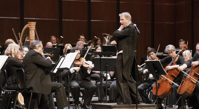 The Gainesville Orchestra performs at the St. Augustine Amphitheatre on April 27.