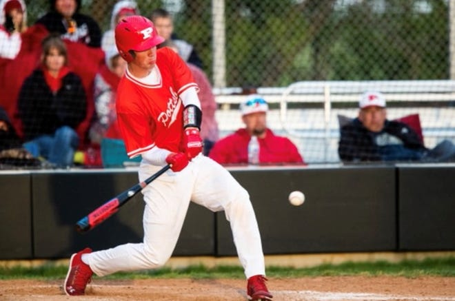 Pottsboro's Titus Lyons went 2-for-3 with a triple, five RBI and scored twice as the Cardinals clinched a playoff spot with a win over Whitewright in District 11-3A action.