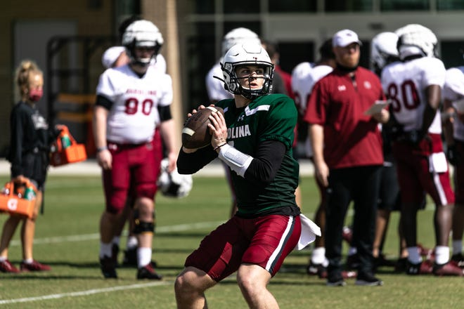 South Carolina quarterback Luke Doty (South Carolina Athletics Photo)