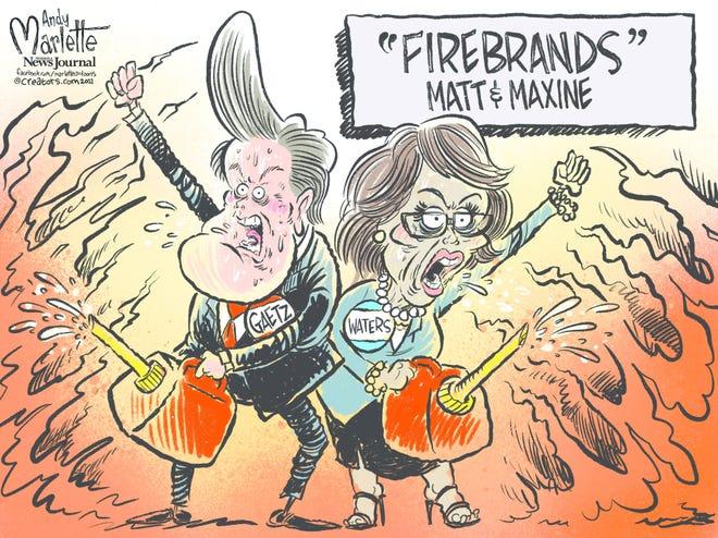 Today's editorial cartoon (April 22, 2021)