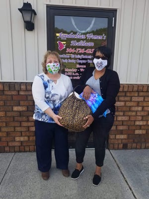 In honor of Heart Month, Appalachian Women's Healthcare of Short Gap held a raffle for all patients seen for the month of February. Heart disease is the leading cause of death in women in the United States. Pictured are Monique Webster, winner, and Tammy Hansford, owner of Appalachian Women's Healthcare. Most major health insurances are accepted and all women are welcome. For more details or to schedule your appointment, call Tammy at 304-726-4253.
