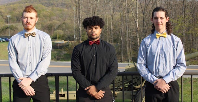 Jonah Edward Kelley Award nominees Darrick Broadwater, Drae Allen and Bradley Sommers took time recently to talk to the News Tribune about being considered for the honor.