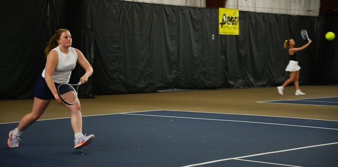 Airport's Makayla Ridner made it to the state quarterfinals at No. 3 singles Friday before falling to the No. 1 seed.