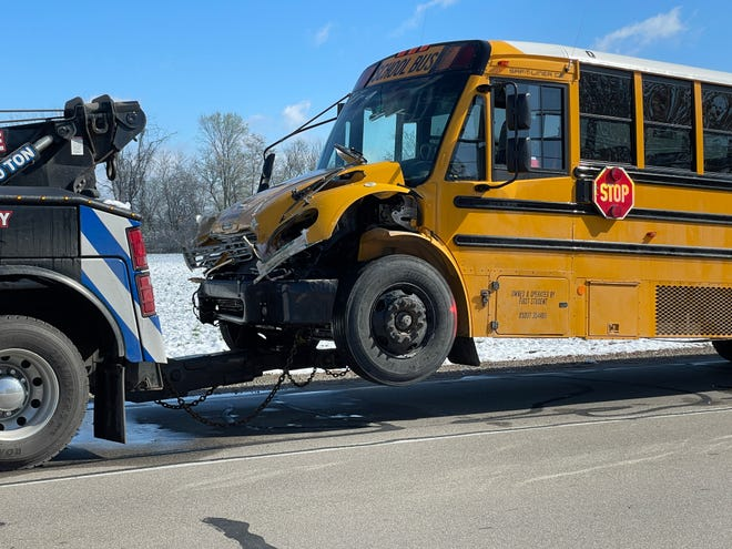 No Airport students were on the bus in Telegraph crash Wednesday morning.
