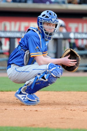 Ida catcher Aaron Dean.