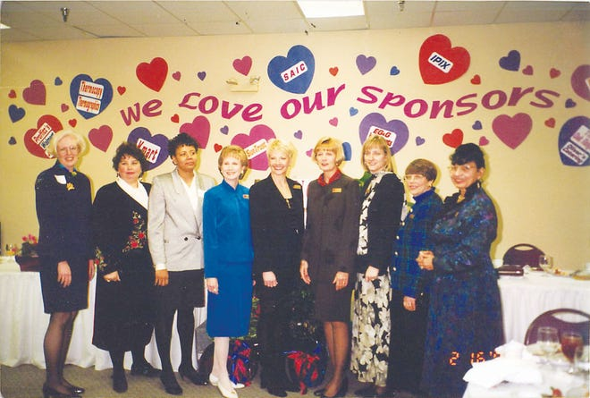 A group of women at a YWCA of Oak Ridge event. Photos are Special to The Oak Ridger