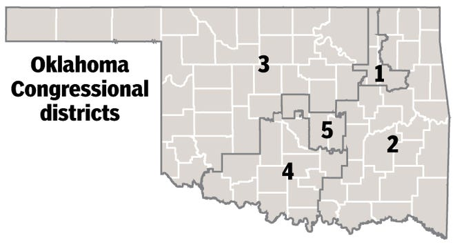 This summer, state lawmakers will begin the process of redrawing Oklahoma's five congressional districts. Public feedback is encouraged at a series of town hall meetings that begin in July.