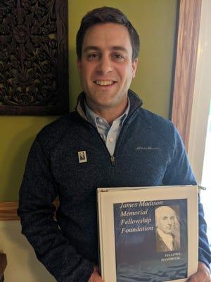 Matthew Wunderle, a social studies teacher at Ravenna High School, has been named Ohio's James Madison Fellow.