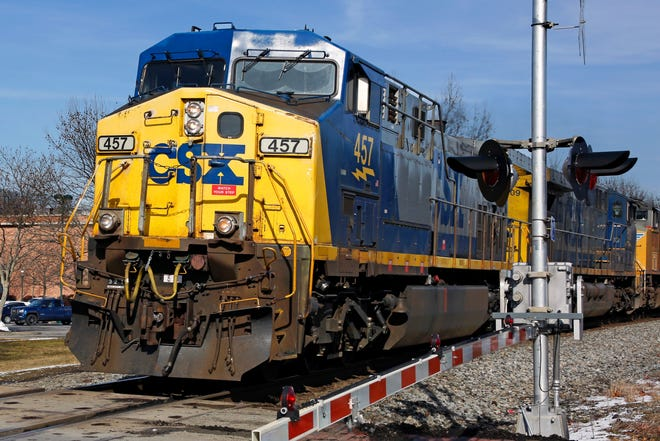 Jacksonville-based CSX operates more than 21,000 miles of track in 23 Eastern states and two Canadian provinces.