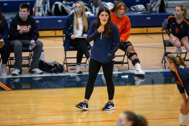 Rochester High School's Kallie Sinkus is The State Journal-Register's Coach of the Year. [JUSTIN L. FOWLER/THE STATE JOURNAL-REGISTER]