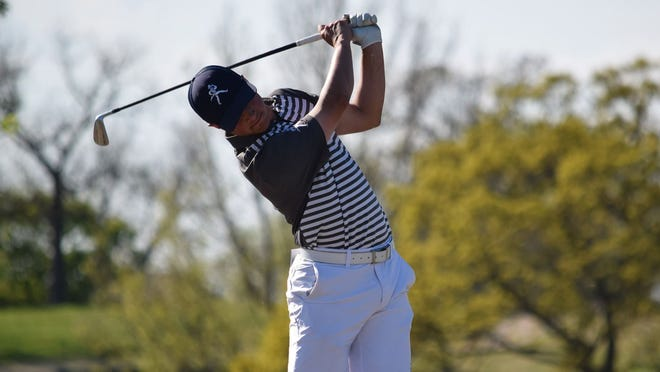 Washburn's Griffin Mott finished second at the MIAA Championships on Tuesday at Shangri-La Country Club in Oklahoma. Mott was one of three Ichabods in the top five and Washburn took second as a team.