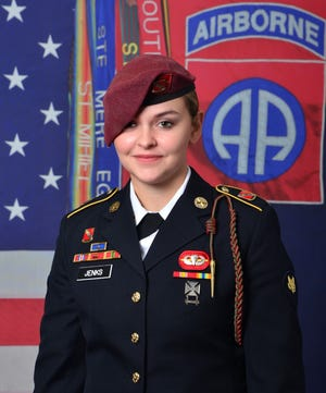 Spc. Abigail Jenks,21, of Gansevoort, New York, has been identified as the paratrooper who died in an airborne accident on post Monday, April 19, 2021.