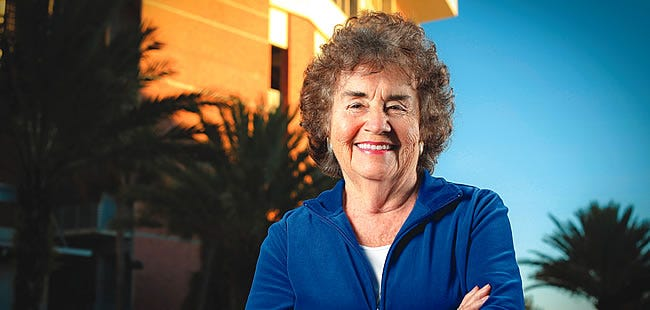 Dr. Ruth Alexander, who spearheaded efforts to create women's athletics at UF, died Tuesday at 83.